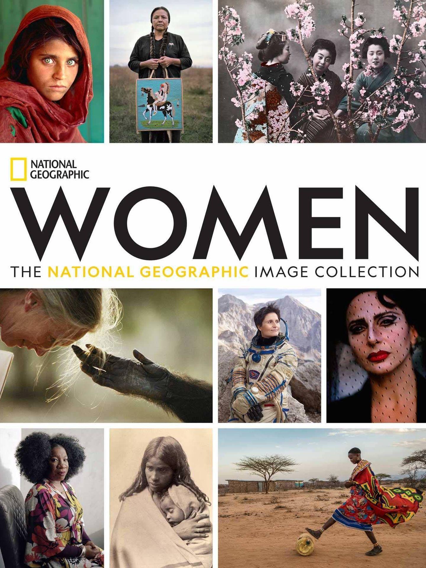 Portada del libro de fotografías 'Women',  de National Geographic.