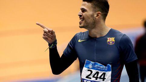Husillos le roba el récord de España de 200 metros en pista cubierta a Hortelano
