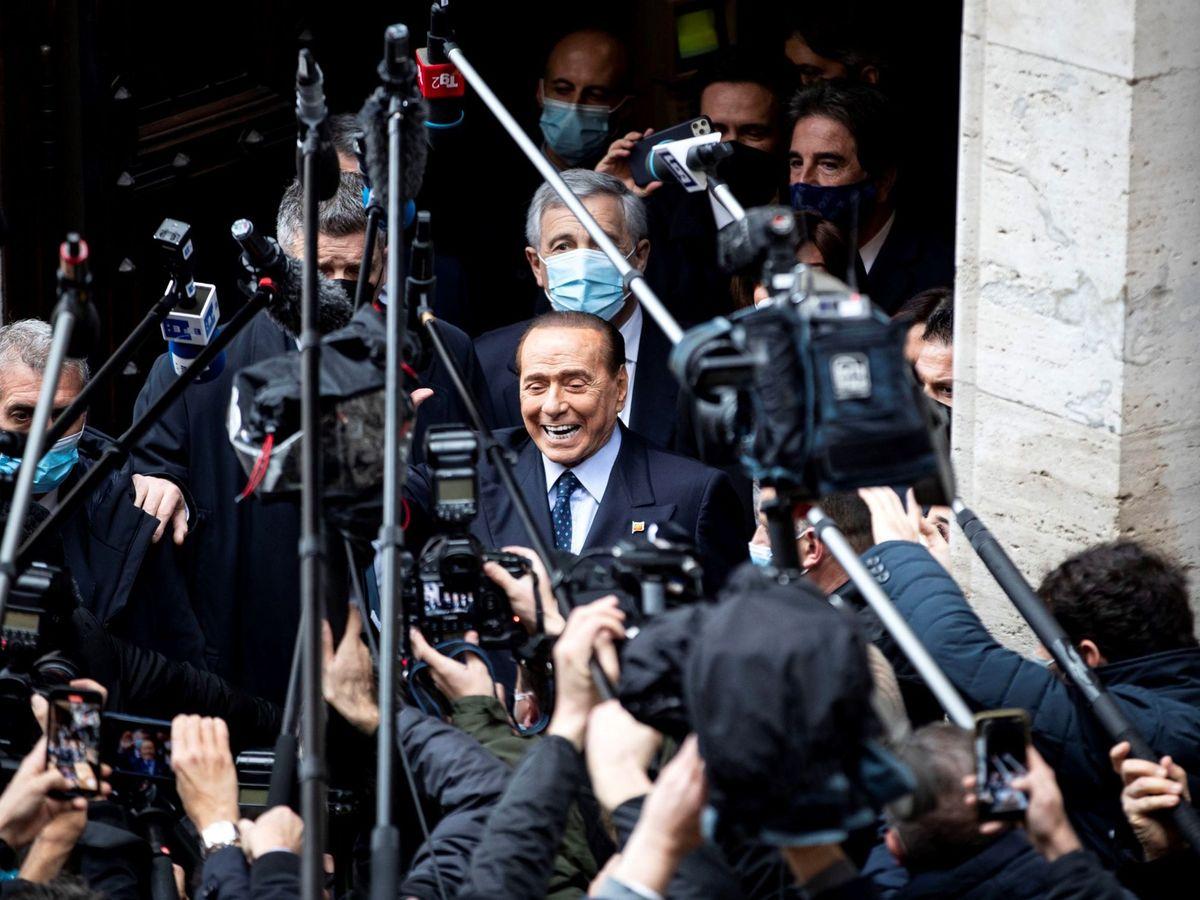 Foto:  El líder del partido conservador Forza Italia (FI), Silvio Berlusconi. (EFE)