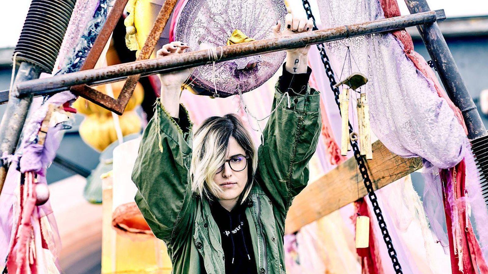 Foto: La youtuber 'Yellow Mellow' se presenta como 'Melo Moreno' en su próximo disco, que saldrá a la venta en octubre.