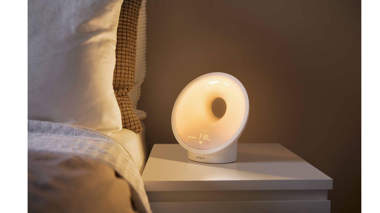 Foto: El nuevo Somneo es una versión renovada de su célebre despertador por luz Philips Wake-Up Light.