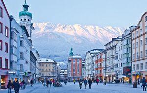 Buena cocina y esquí en Innsbruck