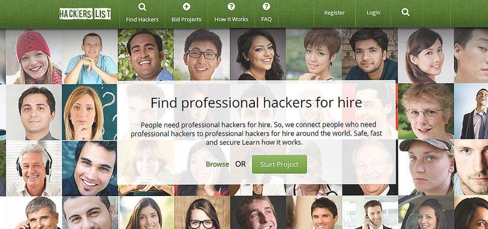 Foto: En esta web se contratan 'hackers' por obra y servicio
