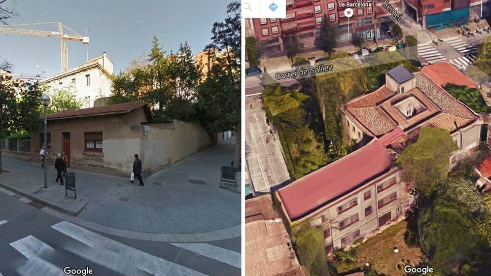 Foto: El 'pelotazo' del Arzobispado en la zona alta de Barcelona.