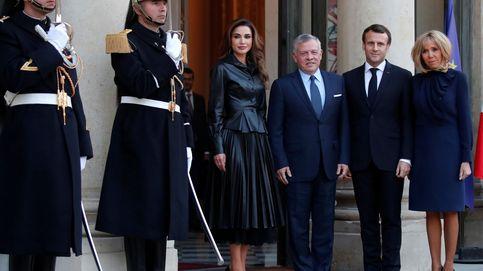 Brigitte se clona a sí misma y Rania, a la reina Letizia: el encuentro más esperado
