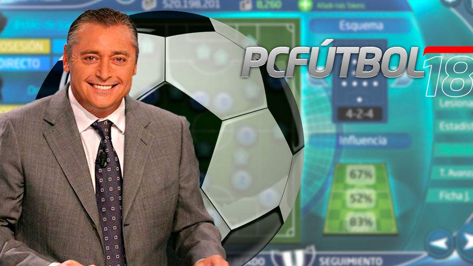 Foto: El comentarista Michael Robinson regresa también como imagen del nuevo 'PC Fútbol 18'. (Carmen Castellón)