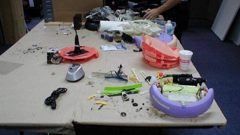 Los órganos de Roomba en 2002 (Joe Jones)