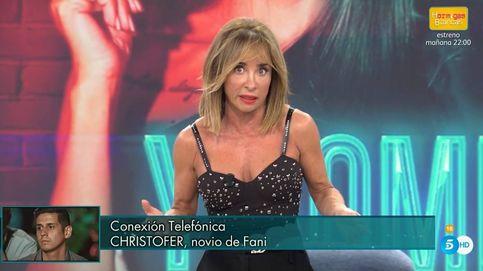 Patiño destroza a Christofer con una incómoda pregunta en el 'Deluxe' de Fani