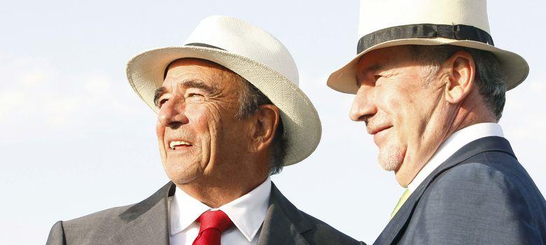 Foto: Emilio Botín y Rodrigo Rato