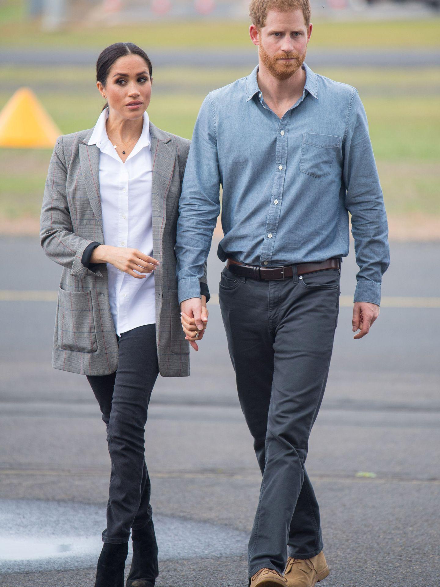 Los duques en Dubbo. (Reuters)