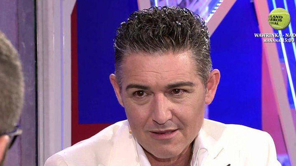 Foto: Ángel Garó en 'Sábado Deluxe'
