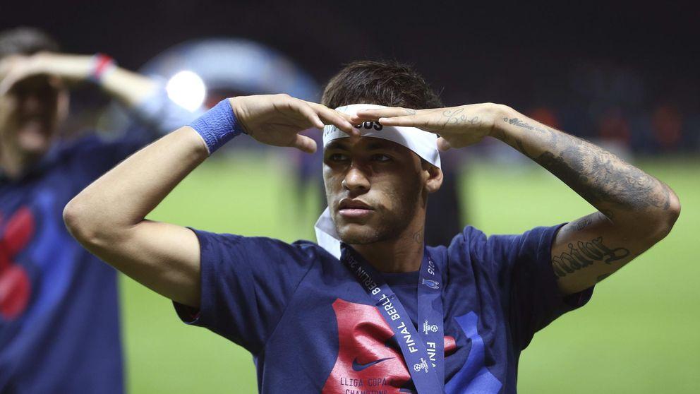 Una empresa brasileña se querella contra Neymar y el Barça por fraude