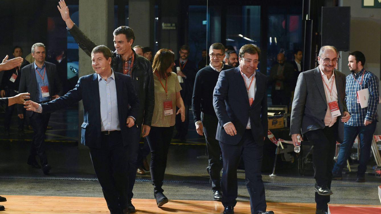 Los barones del PSOE confían en una pronta recomposición de la unidad interna