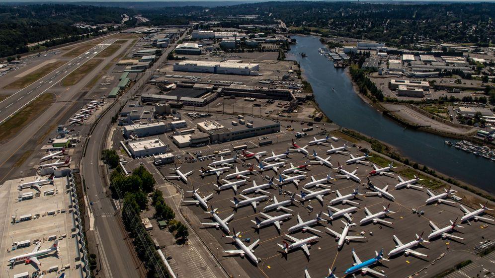 Foto: Boeing 737 MAX, aterrizados forzosamente en EEUU. (Reuters)