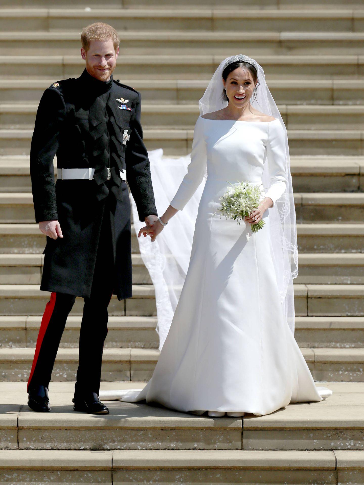 La boda de los duques de Sussex. (Getty)