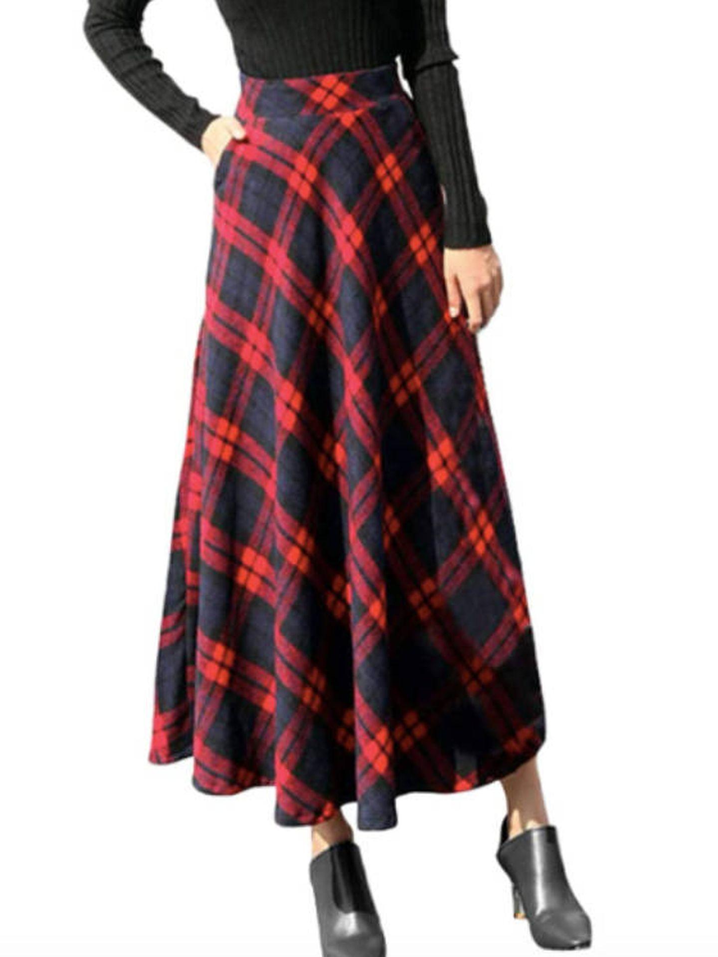 Falda de Lenfesh. (Cortesía)