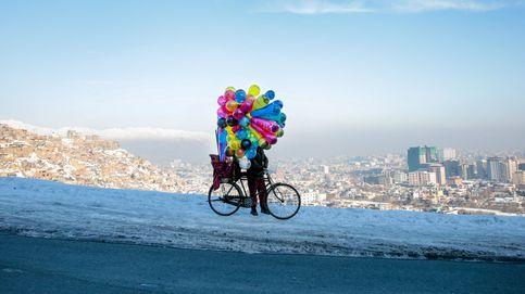Vendedor de globos en Kabul