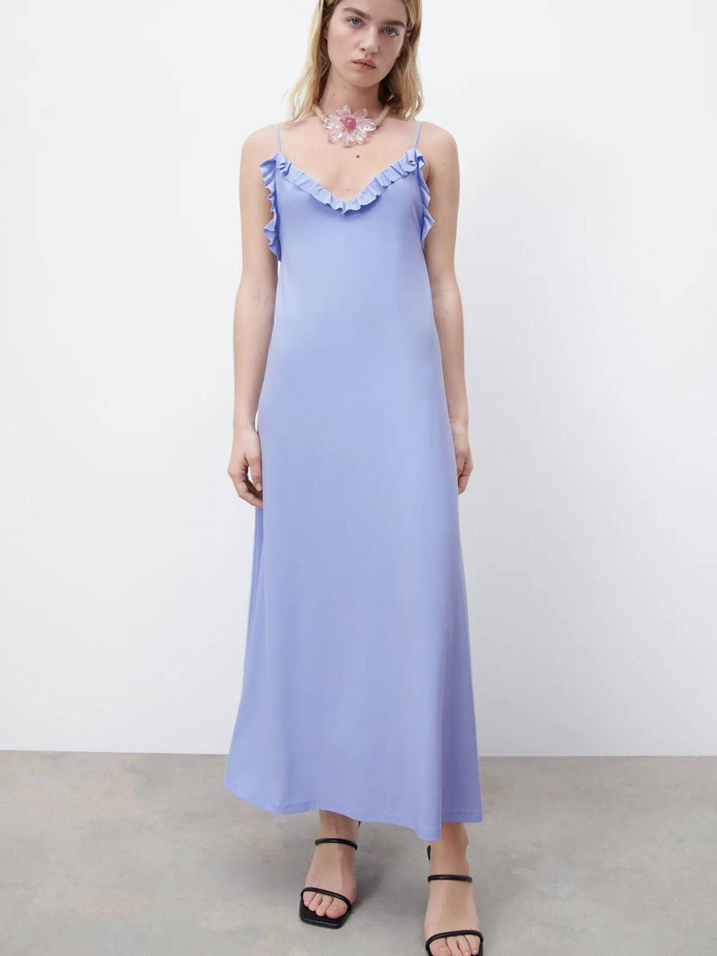 Vestido de las novedades de Zara. (Cortesía)