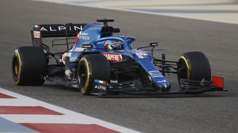 Fernando Alonso y la paliza con su nuevo Alpine: más mochila y menos alforjas