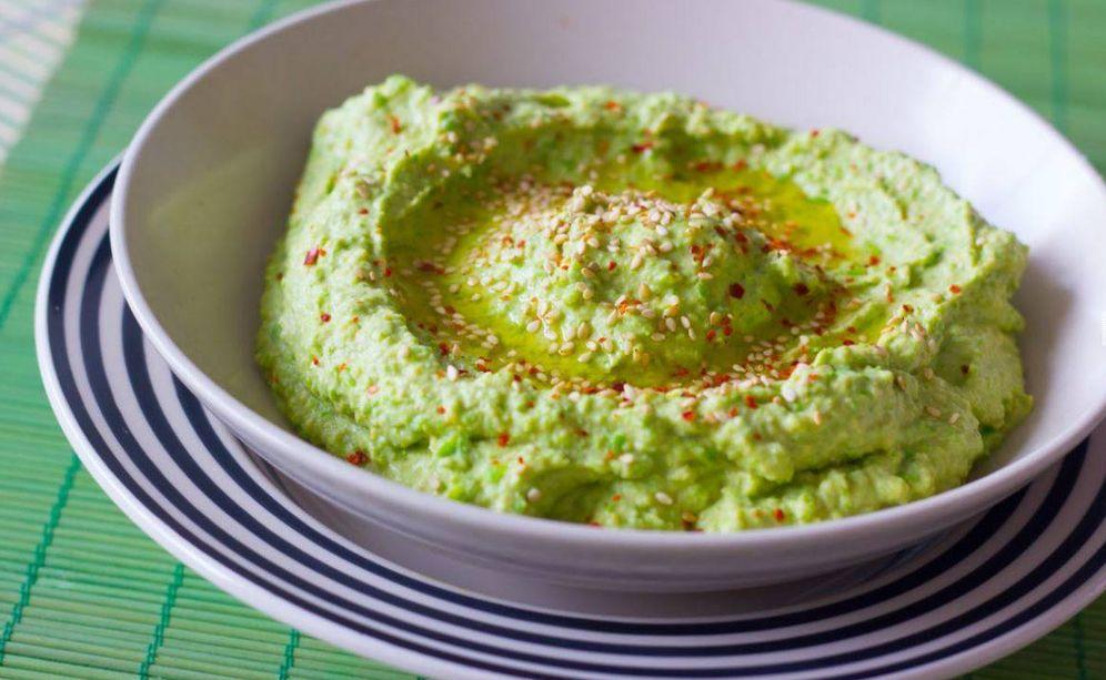 Foto: Hummus de guisantes