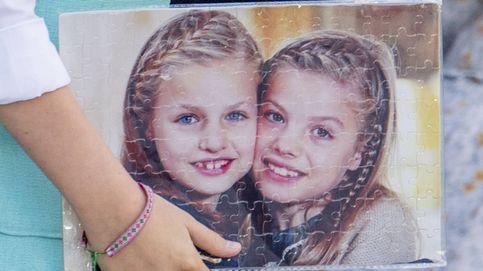 El puzle que la princesa Leonor y la infanta Sofía recibieron en la misa de Pascua