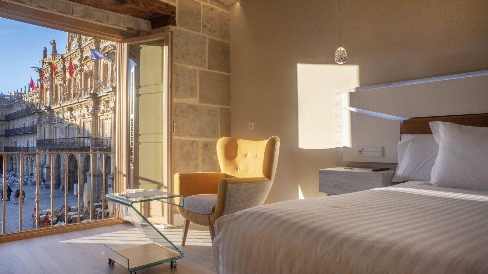 Foto: Con vistas. Así es una de las habitaciones del Salamanca Luxury Plaza. (P. Parajuá)