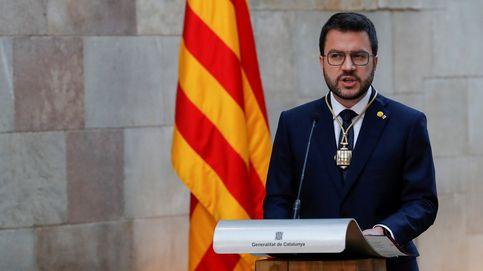 Aragonès visita a los presos del 1-O en la cárcel de Lledoners en su primer día como presidente