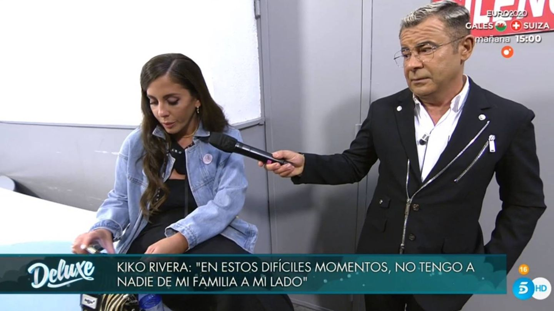 Anabel Pantoja y Jorge Javier. (Telecinco).