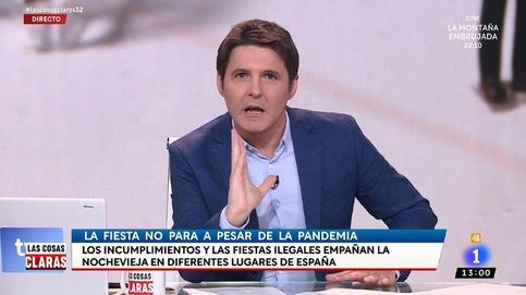 El palo de Cintora a una colaboradora por arremeter contra Pedro Sánchez