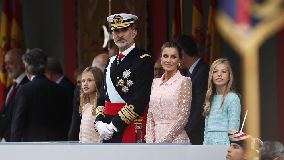 En DIRECTO: Felipe y Letizia en la Fiesta Nacional y la posterior recepción