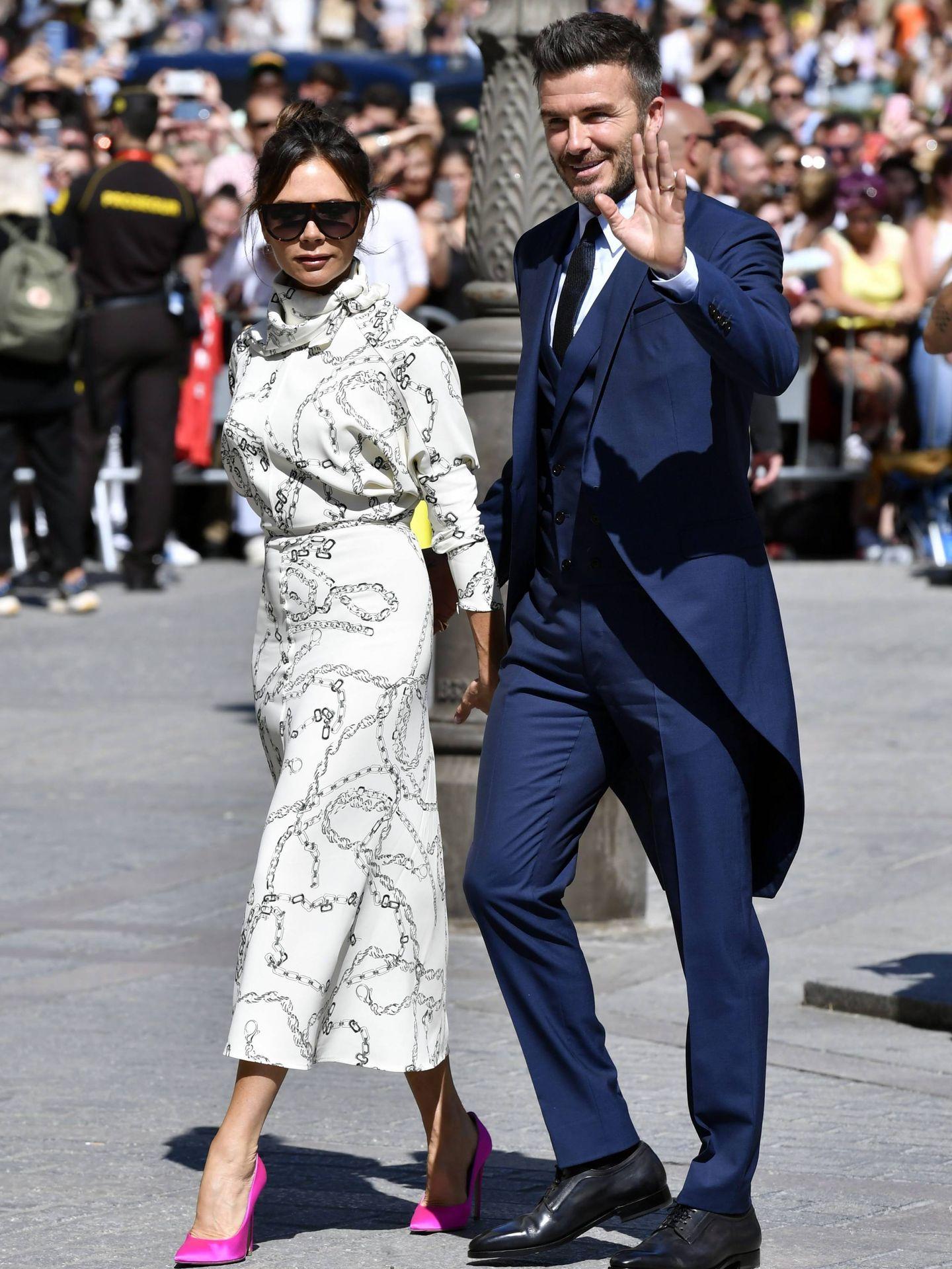 Victoria y David Beckham. (Cordon Press)