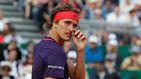 Los nervios de Alexander Zverev en Madrid: así son los gestos de un campeón frustrado