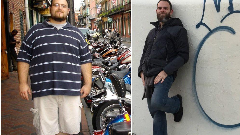 Foto: Este era Joe en 2008 y ahora. (Drop the armor)
