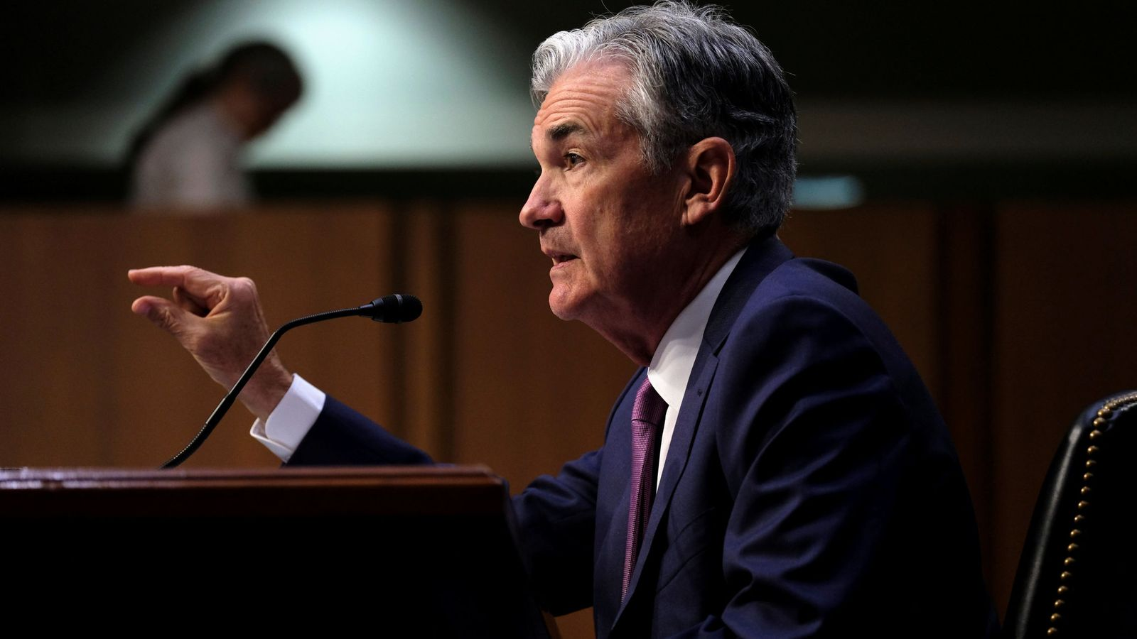 Foto: El presidente de la Fed, Jerome Powell (Reuters)