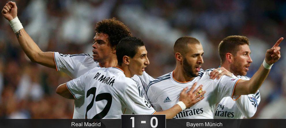 Foto: El Real Madrid demuestra que hay fútbol más allá del toque