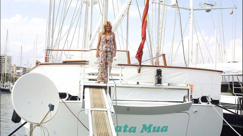 El Mata Mua de Tita Thyssen también navega 'offshore'