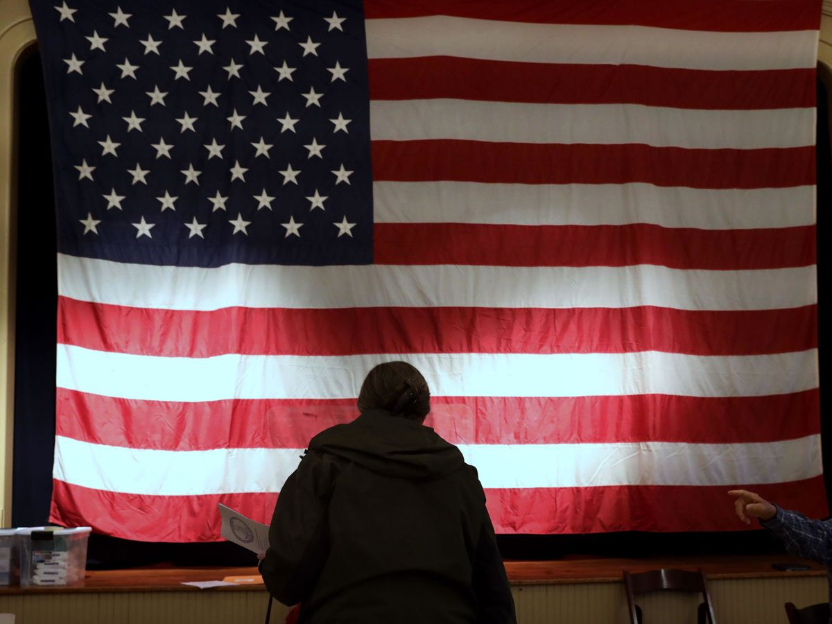 Foto: Bandera de EEUU
