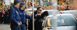 La Policía reconstruye los hechos en la casa del asesino confeso de Marta