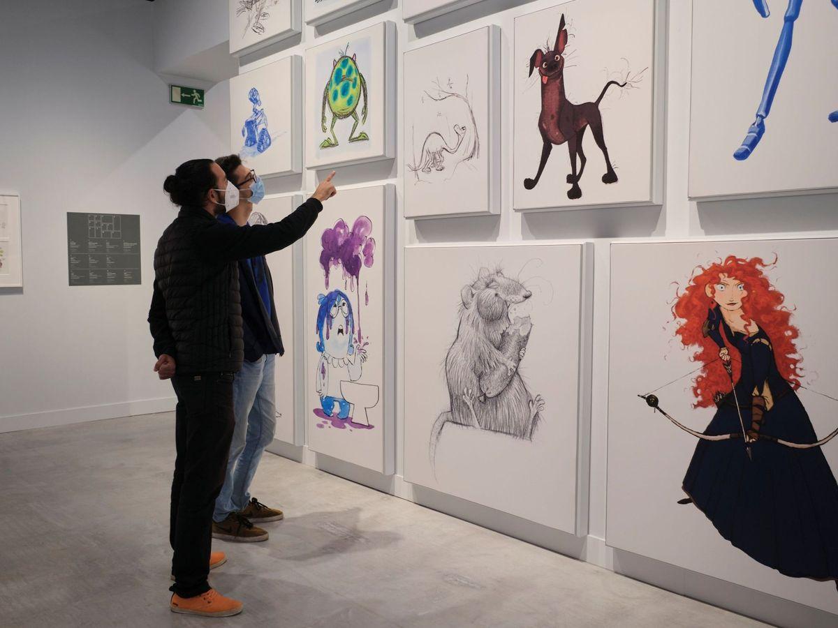 Foto: CaixaForum expone en Sevilla 'Pixar. Construyendo personajes'