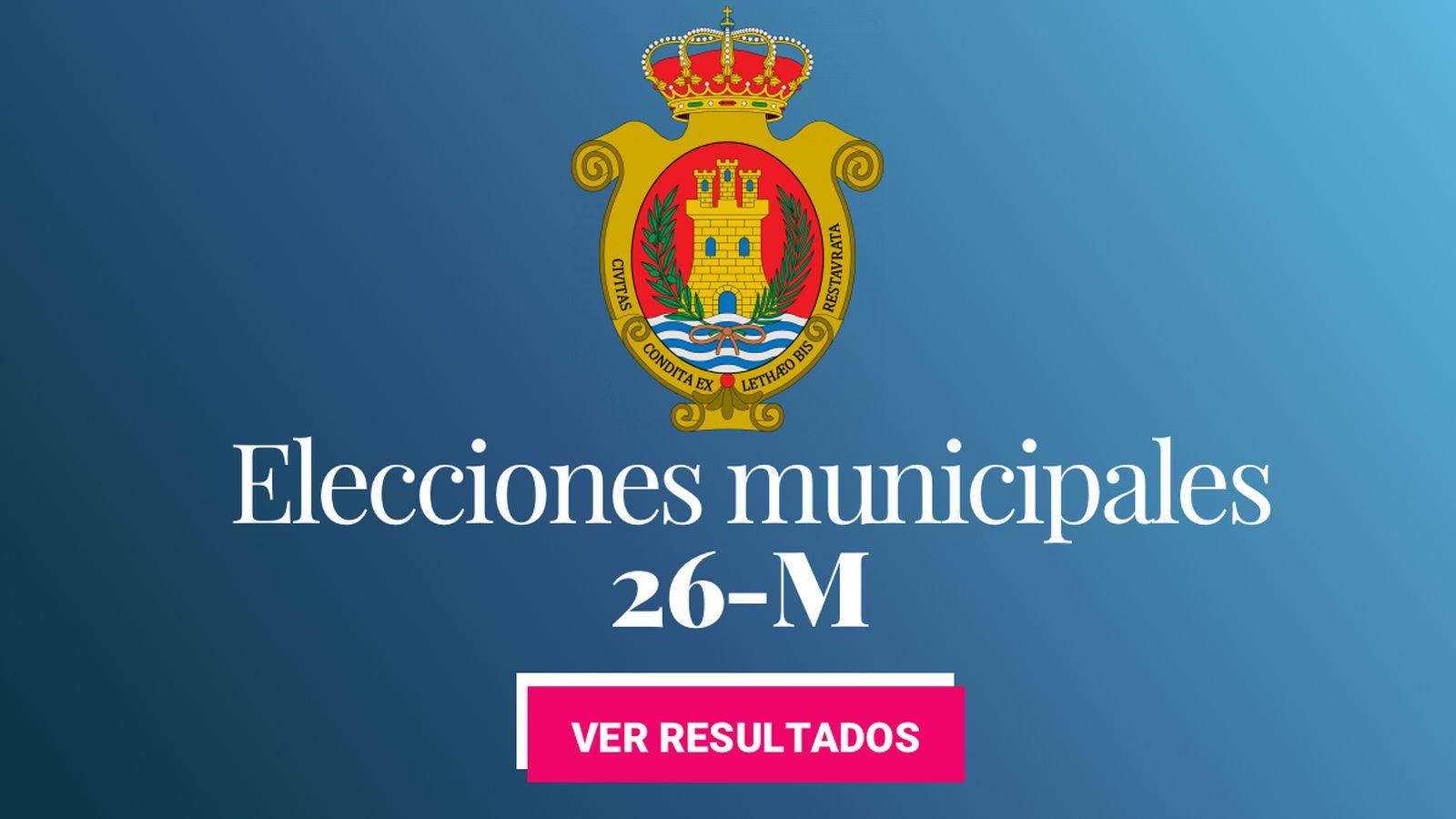 Foto: Elecciones municipales 2019 en Algeciras. (C.C./EC)