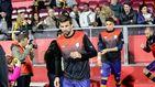 Gerard Piqué: su canto de Els Segadors y su balón al larguero con la Selección catalana