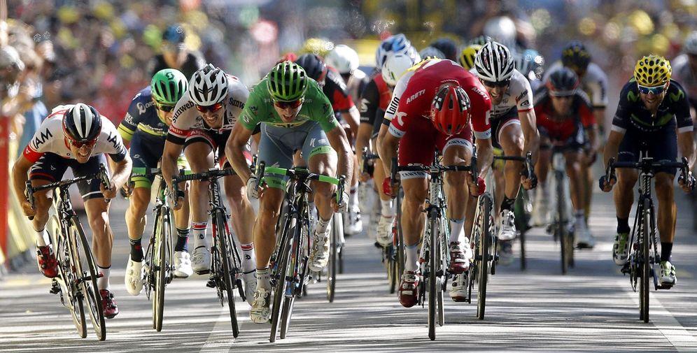 Foto: Peter Sagan se impuso en la 16ª etapa del Tour de Francia (EFE)