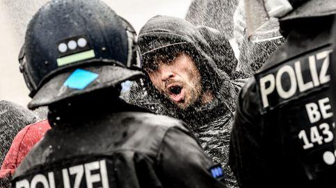 Más de 350 detenidos en una protesta contra las restricciones en Berlín