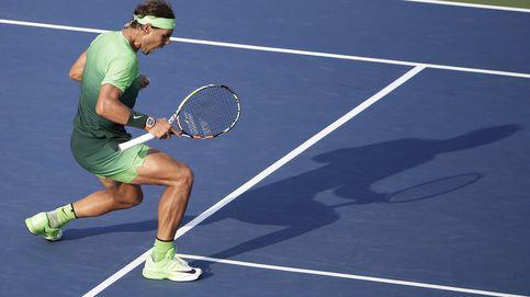 Cuando Rafa Nadal no tiene un buen día, sólo le queda pelear... y ganar