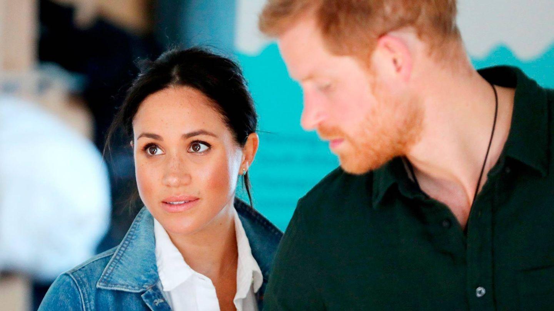 Meghan y Harry en una imagen de archivo. (EFE)