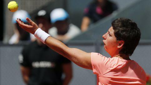 Carla Suárez se sobrepone al catarro para alcanzar los octavos en Madrid