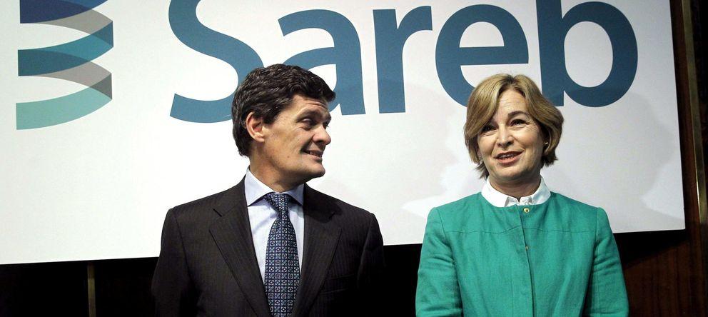 Foto: Belén Romana con Jaime Echegoyen. (EFE)
