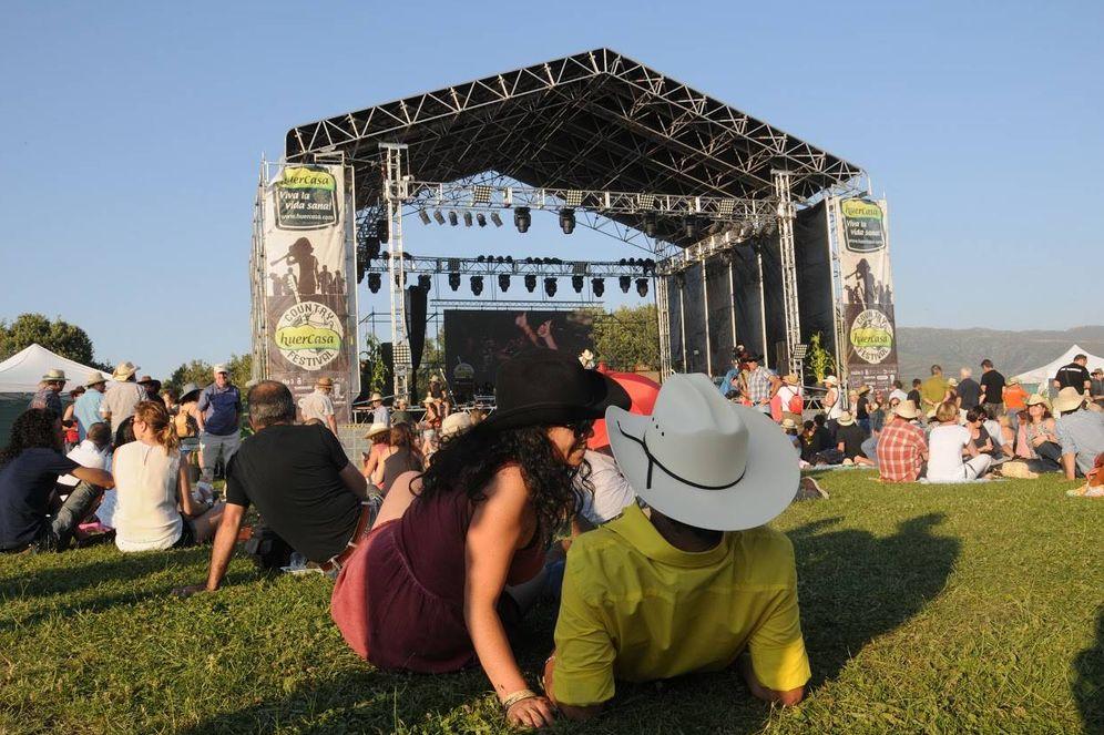 Foto: Vaqueros en el Huercasa Country Festival