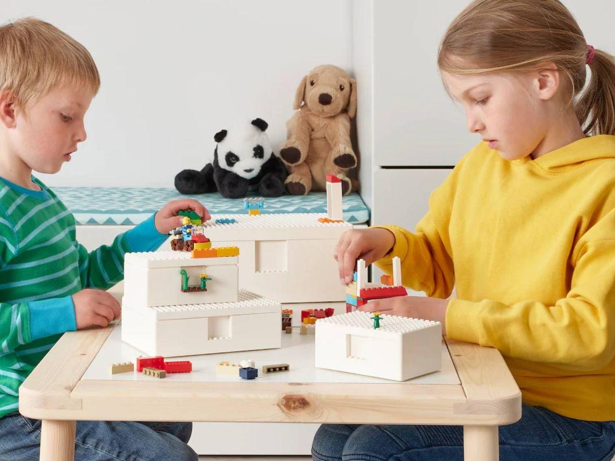 Foto: Nueva colección de Ikea y Lego. (Cortesía)