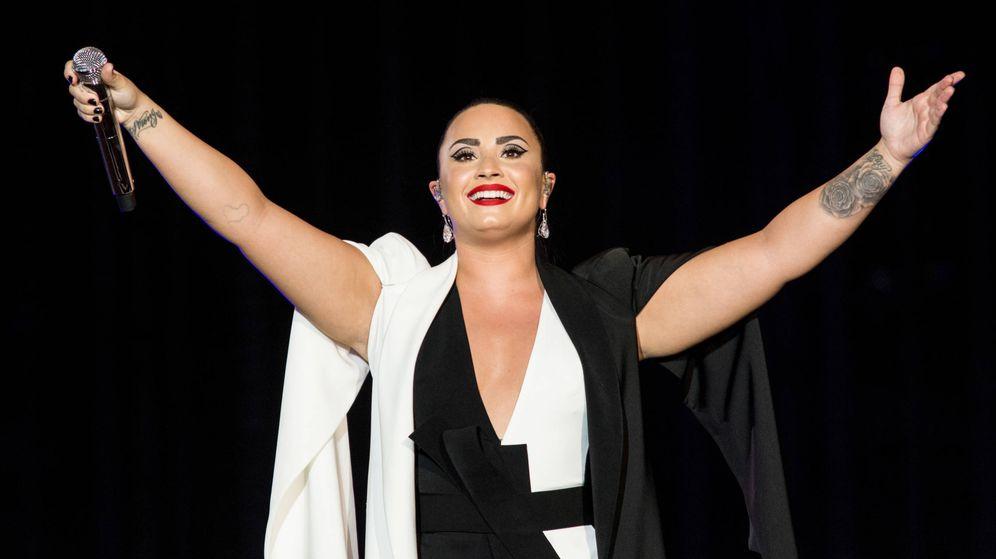 Foto: Demi Lovato, el pasado mes de junio en un concierto en Lisboa. (Getty)